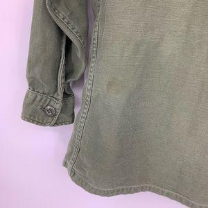 Vintage Jackets & Coats - Army Green Military Jacket shirt Small Womens